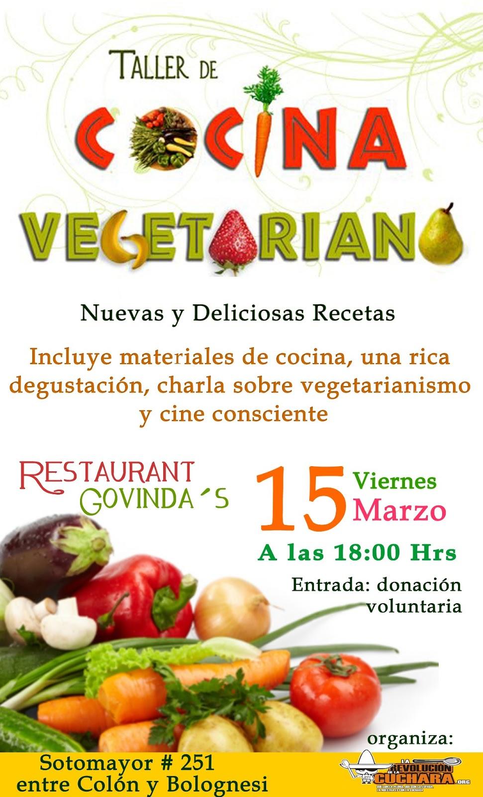Taller de cocina vegetariana en arica for Cocina vegetariana