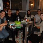 Ganadores y parte del equipo organizador del concurso Literario.