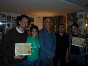Ganadores, jurado y parte del equipo organizador del Concurso.